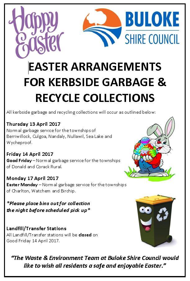Waste Amp Recycling Buloke Shire Council